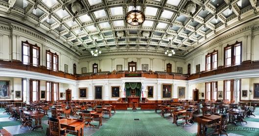 TX Senate chambers