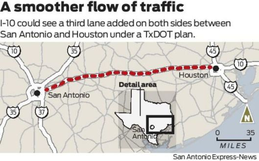 Graphic courtesy of San Antonio Express-News